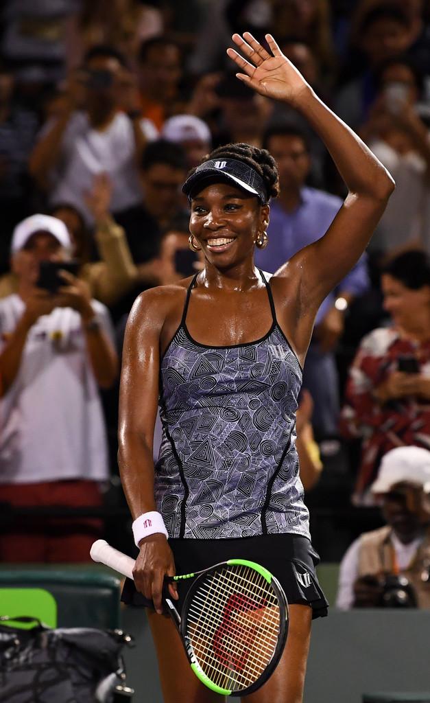 ヴィーナス・ウィリアムズ(Venus Williams)!現役最強テニスプレイヤーの超強烈な汗ワキ!第三弾!